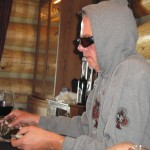 Steve Moe playing poker