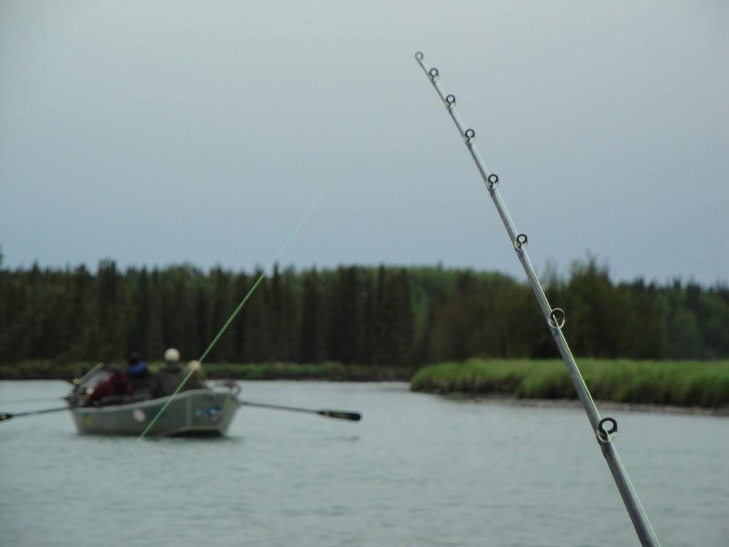 Kasilof Salmon fishing poles