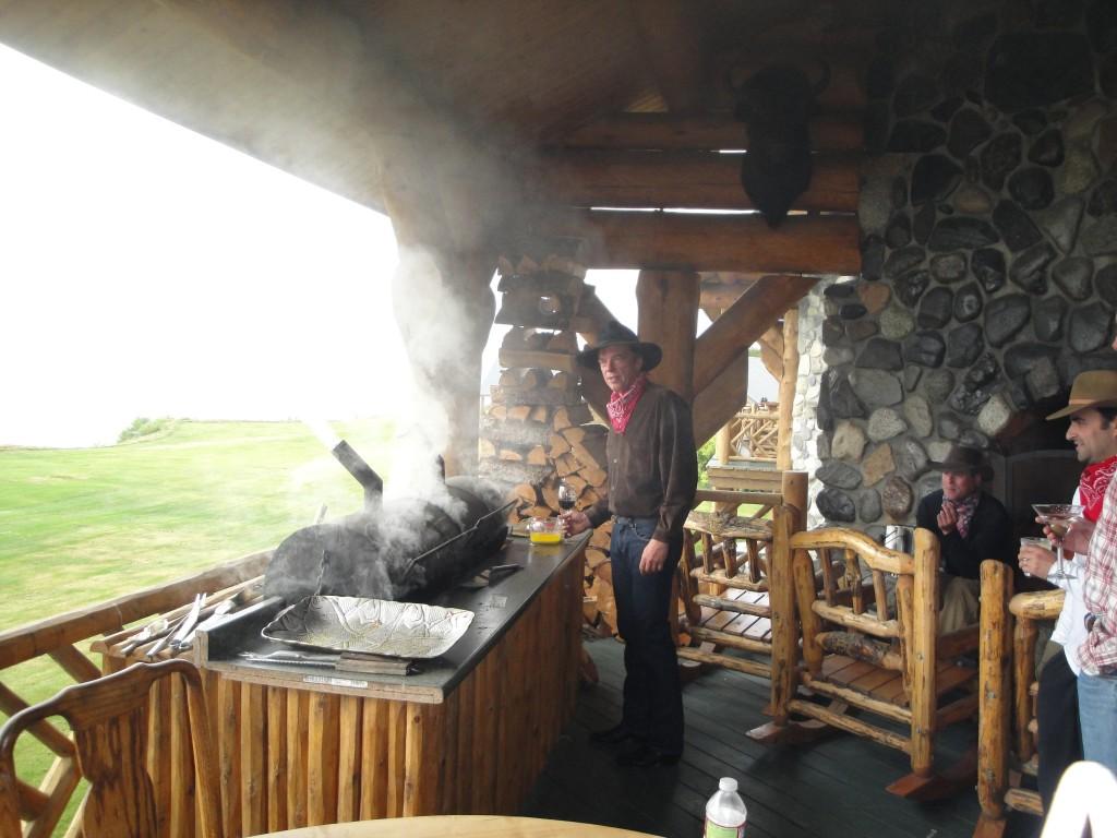 alaskan grilling elk