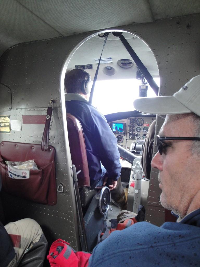 beaver bush plane takeoff