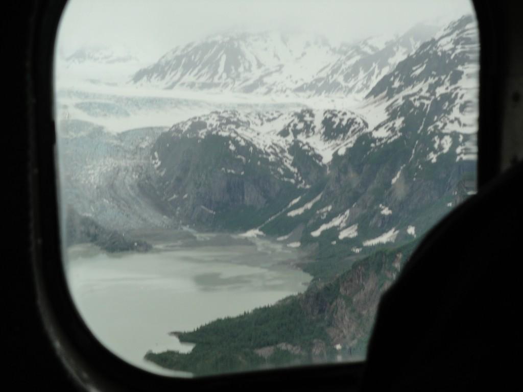 glaciers by cook inlet alaska