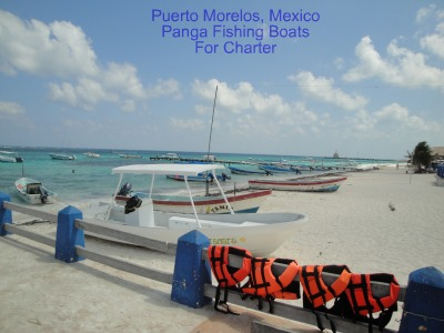charter boats in puerto morelos