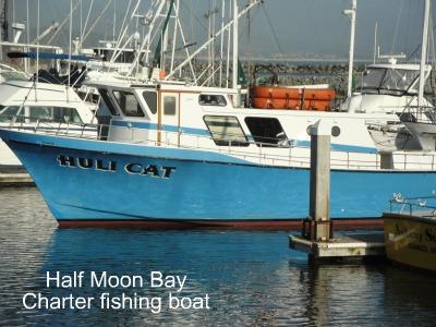 half moon bay charter boat