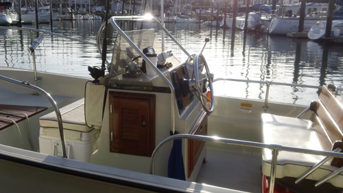 17 ft Boston Whaler